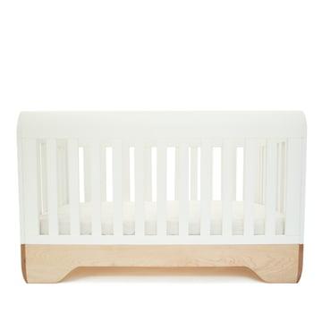 Babybett Echo Crib von Kalon aus Ahorn in Weiss