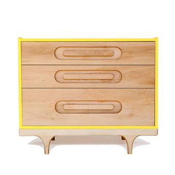 Kommode Caravan Dresser von Kalon in Gelb