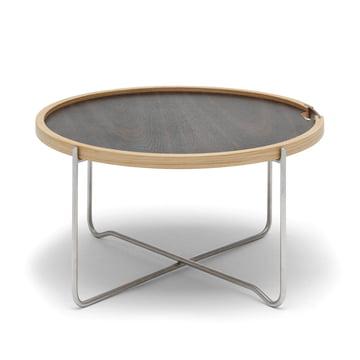 Klappbarer Tisch mit Wendeplatte von Carl Hansen
