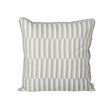 Arch Kissen 50 x 50 cm von ferm Living in Grau und Off-White
