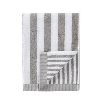 Marimekko - Kaksi Raitaa Handtuch, grau / weiss 50 x 100 cm