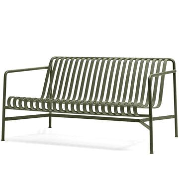 Das Palissade Lounge Sofa von Hay in olive