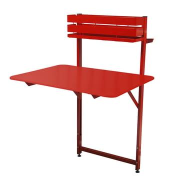 Fermob - Bistro Balkon Tisch, mohnrot