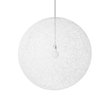 Random Light LED Pendelleuchte in M von Moooi in Weiss