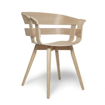 Der Wick Chair Wood in Eiche natur von Design House Stockholm