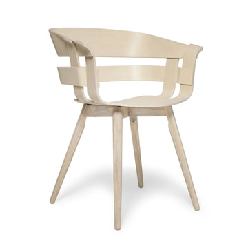 Der Wick Chair Wood in Esche natur von Design House Stockholm