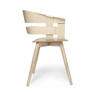 Der Wick Chair Wood in Esche von Design House Stockholm