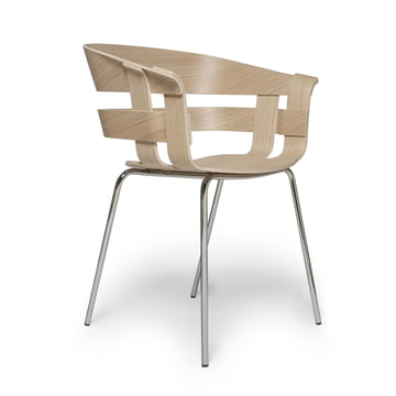 Design House Stockholm - Wick Chair Wood, Eiche