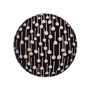 Das Circular Cushion mit Pop Rain Motiv