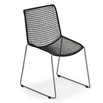 Slope Stuhl von Weishäupl in Schwarz