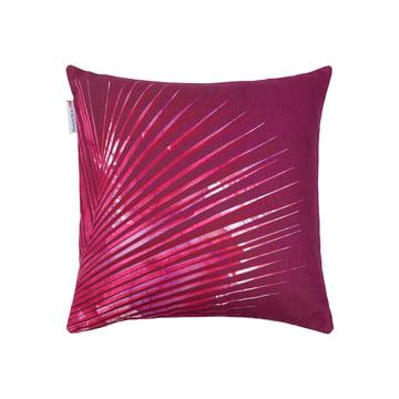 Hanoï Kissen 40 x 40 cm von red edition in Prune
