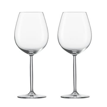 Diva Glas für Rotwein und Wasser (2er-Set) von Schott Zwiesel