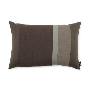 Line Cushion von Normann Copenhagen in der Grösse 40 x 60 cm in braun