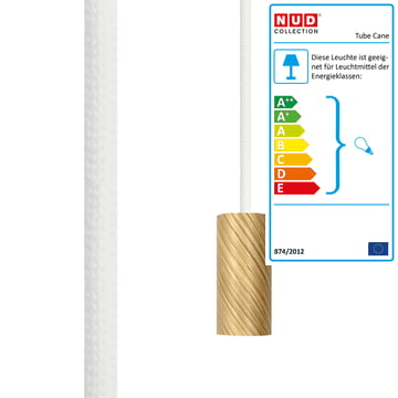 Tube Cane von NUD Collection in der Farbe Whipped Cream (TT-01A)