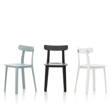 Der All Plastic Chair von Vitra in verschiedenen Farbvarianten