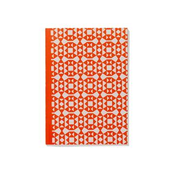 Notizbuch Softcover A5 Facets von Vitra in Orange