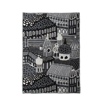 Kumiseva Decke von Marimekko in Schwarz/ Grau/ Weiss