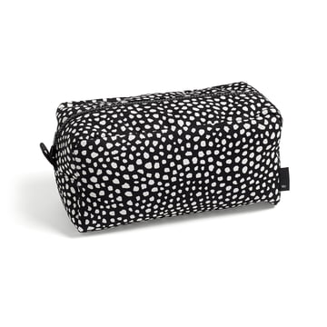 Die Hay - Dot Wash bag, L in schwarz