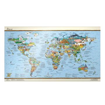 Travelmap/Bucketlist beschreibbar von Awesome Maps auf Deutsch