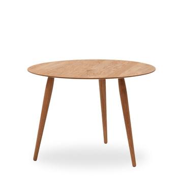 Play Round Wood Beistelltisch Ø 90 cm von bruunmunch in Eiche natur