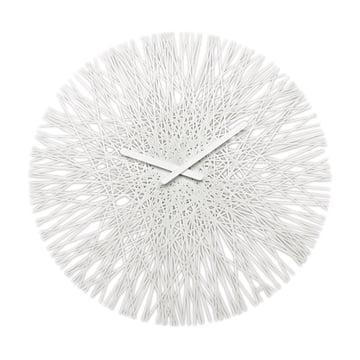 Silk Wanduhr von Koziol in Weiss