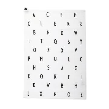 Das Design Letters - Geschirrhandtuch, Vintage ABC