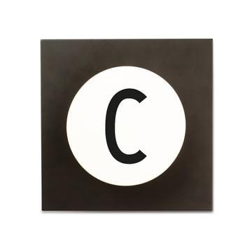 Hook2 Letter Wandhaken C von Design Letters