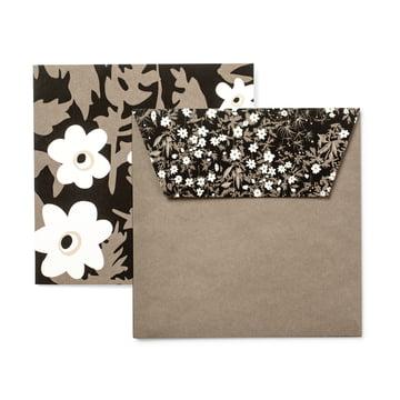 Design Letters - AJ Design Karten (6er Set), Vintage flower