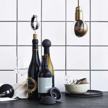 Korkenzieher Weinkugel von Rosendahl
