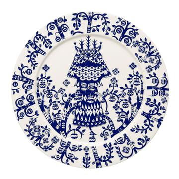 Iittala - Taika Teller flach, nachtblau Ø 27 cm