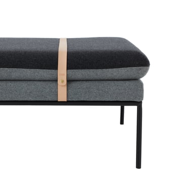 Das ferm Living - Turn Daybed wool in dunkelgrau