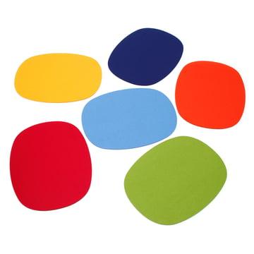 Hey Sign - Tischset oval, Gruppe