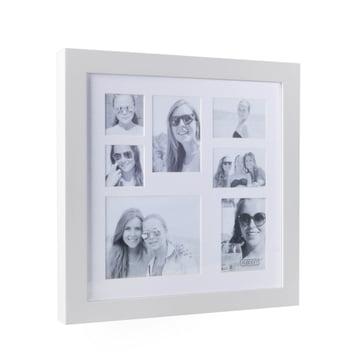 Multi Photo Rahmen für 7 Bilder von XLBoom in Weiss