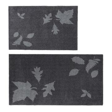 Die tica copenhagen - Leaf Mega Fussmatte in 67 x 120 cm, grau und 60 x 90 cm, grau