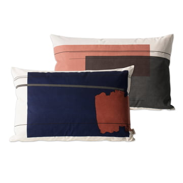 Colour Block Kissen Large 1 von ferm Living