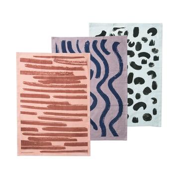 Brush Geschirrtücher (3er-Set) von ferm Living