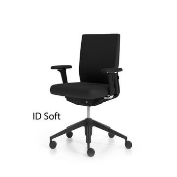 Vitra ID Chair Soft (mit Schriftzug)