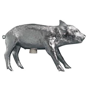 Areaware - Pig Bank Sparschwein, chrom