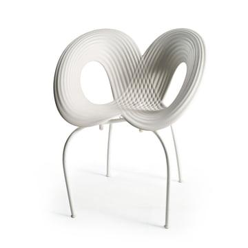 Ripple Chair (Cod. 050) von Moroso in Weiss / Weiss