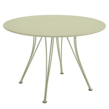 Rendez-Vous Tisch rund Ø 110 cm von Fermob in Lindgrün