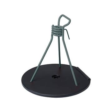 Zébulon Schirmständer von Fermob in Gewittergrau