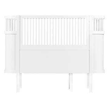 Das Sebra Bett Baby & Junior in Weiss
