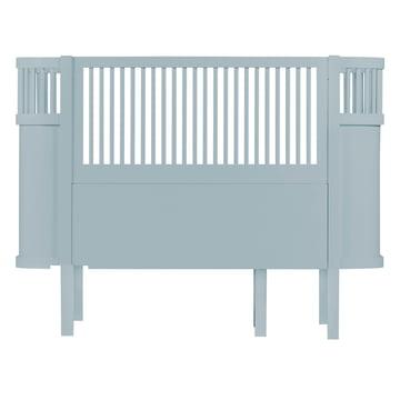 Das Sebra Bett Baby & Junior in Wolkenblau