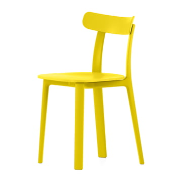 Vitra - All Plastic Chair, butterblume