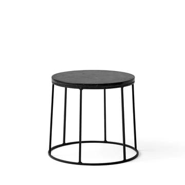 Wire Tischplatte Marmor als Beistelltisch