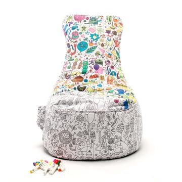 Baumwoll-Sitzsack zum Bemalen