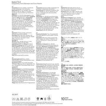 Kvadrat - Stoffkarte Steelcut Trio 3