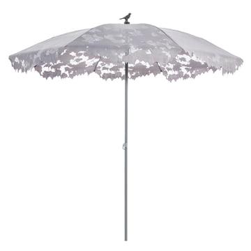 Droog Design - Shadylace Sonnenschirm Ø 245 cm, grau