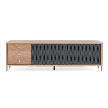 Hartô - Gabin Sideboard mit Schubladen 162 cm, anthrazitgrau (RAL 7016)