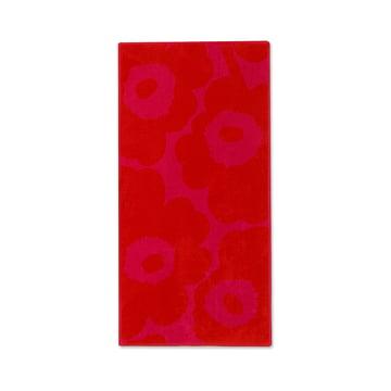Unikko Solid Handtuch 50 x 100 cm von Marimekko in Rot